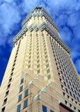 Arranha-céus retro do estilo Fotografia de Stock Royalty Free