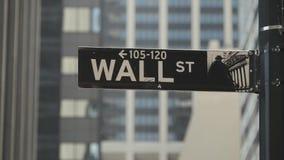 Arranha-c?us de New York Sinal de Wall Street filme