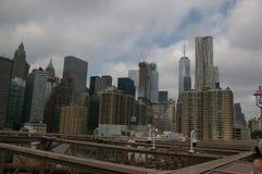 Arranha-c?us em New York foto de stock