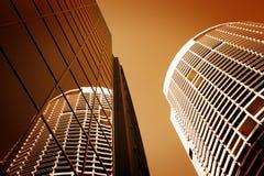 Arranha-céus dos edifícios altos de Sydney Austrália Imagens de Stock Royalty Free