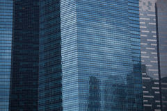 Arranha-céus em Singapura Fotografia de Stock