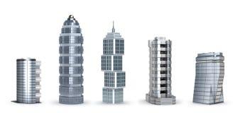 Arranha-céus modernos Imagem de Stock Royalty Free