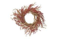 Arranjo circular do Natal imagem de stock