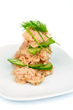 Salada de atum Imagens de Stock