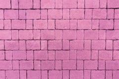 Arranjo de blocos do tijolo Imagem de Stock