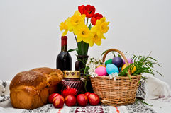 Arranjo de Easter Imagem de Stock Royalty Free