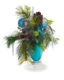Arranjo de esferas do Natal Foto de Stock Royalty Free
