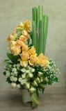 Arranjo de flor colorido Fotos de Stock Royalty Free