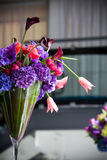 Arranjo de flor colorido imagens de stock royalty free