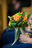 Arranjo de flor do ramalhete do casamento Fotografia de Stock