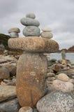 Arranjo de pedra equilibrado Fotos de Stock Royalty Free