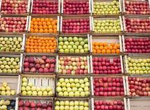 Arranjo do fruto fotos de stock royalty free