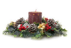 Arranjo do Natal fotografia de stock