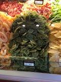 Arranjo dos frutos secos Imagem de Stock Royalty Free