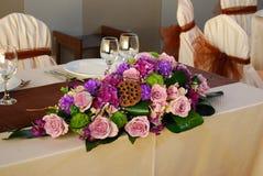 Arranjo floral Fotos de Stock