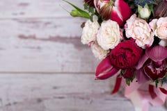 Arranjo floral bonito Foto de Stock Royalty Free