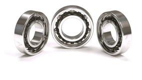 Arranjo horizontal de três rolamentos de esferas Imagens de Stock