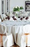 Arranjo interior com flores Fotografia de Stock Royalty Free
