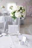 Arranjo luxuoso do casamento Imagem de Stock