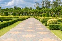 Arranjos de jardinagem e de passeio Foto de Stock Royalty Free