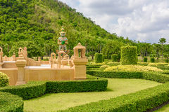 Arranjos de jardinagem e de passeio Imagem de Stock Royalty Free
