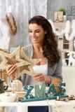 Arranjos do Natal Imagem de Stock