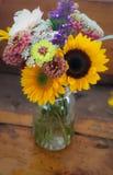 Arranjos florais foto de stock