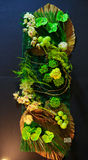Arranjos internos bonitos do sumário da flora fotos de stock