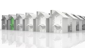 Arranque de cinta de las propiedades inmobiliarias libre illustration