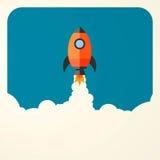 Arranque de negocio Rocket Imagenes de archivo
