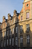 Arras, France. Grande Place Flemish facades Royalty Free Stock Images