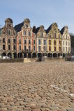Arras, France. Grande Place Flemish facades Stock Photo