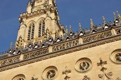 Arras, France Hôtel de ville et beffroi gothiques Photo libre de droits
