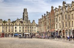 Arras marketplace in France Royalty Free Stock Image