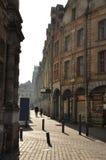 Arras, France. Place des Heros Flemish facades Royalty Free Stock Photography