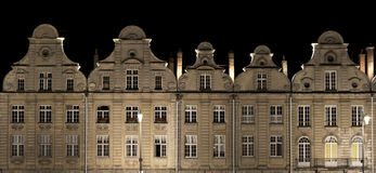 Arras Grand Place. At night royalty free stock image