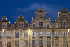 Arras Grand Place. At night stock photos