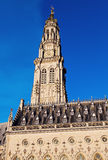 Arras Town Hall on Place des Heros Stock Images