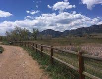 Arraste montanhas da vista nenhuma vida de Colorado da paisagem dos povos imagem de stock royalty free