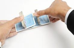arrastramiento de la tarjeta Imagen de archivo libre de regalías
