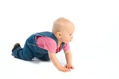 Arrastre del bebé Fotografía de archivo