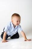 Arrastre del niño imagenes de archivo