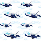 Array of aeroplane Stock Photo