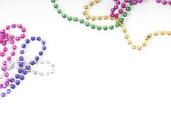 Array of beads Royalty Free Stock Photo