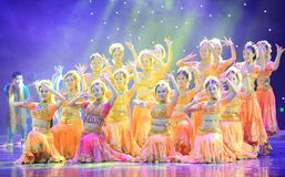 Array-Dance of India Stock Photos