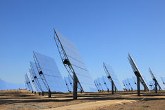 Array of photovoltaic panels Stock Images