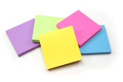 An array of sticky note pads Stock Photography