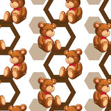 Array of teddy Royalty Free Stock Photo