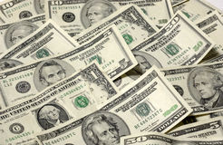 Array of USA Paper Money Royalty Free Stock Image