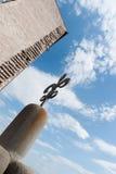Arrchitectural λεπτομέρεια της Fleur Di lis σιδήρου ευρωπαϊκό χτίζοντας clo Στοκ Φωτογραφίες